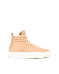 Helmut Lang Hi Top Sneakers
