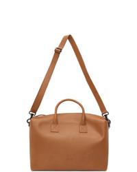 Marsèll Tan Leather Duffle Bag