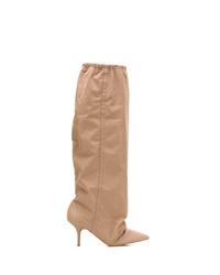 Yeezy Elasticated Knee Length Boots