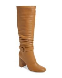Gianvito Rossi Knee High Block Heel Boot