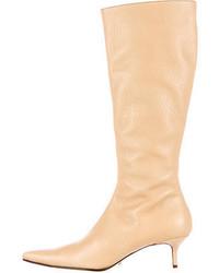 Dolce & Gabbana Knee High Boots W Tags