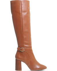 Office Koko Leather Knee High Boots