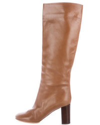 Chloé Leather Knee High Boots