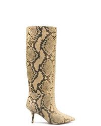 Yeezy Snake Effect Mid Calf Boots