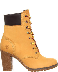 Timberland Glancy Leather Ankle Boots