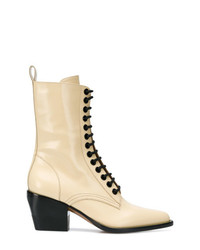 Chloé Lace Fastened Boots