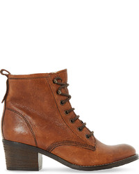 Leather lace up patsie ankle boot medium 891898