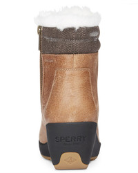 72aeffa74881 ... Sperry Luca Peak Cold Weather Lace Up Wedge Ankle Boots