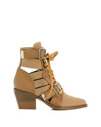 Chloé Multi Strap Ankle Boot