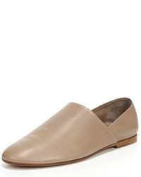 Vince Maude Leather Slip On Loafer Gull