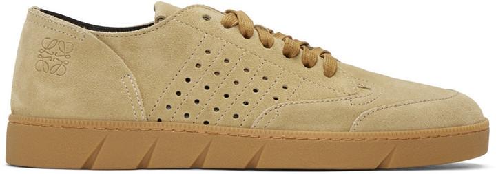 LoeweTan Leather Sneakers PKdYrzTur