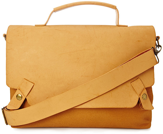 21men 21 Paneled Faux Leather Messenger Bag | Where to buy & how ...