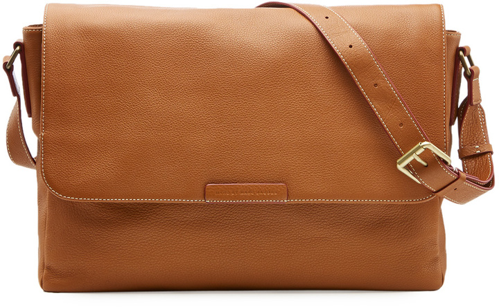 Marc by Marc Jacobs Leather Messenger Bag | Where to buy & how to wear