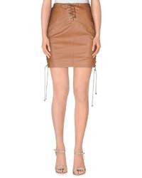 Elisabetta Franchi Gold Mini Skirts
