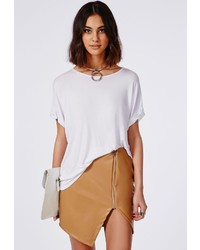 Tan Leather Mini Skirts for Women | Women's Fashion