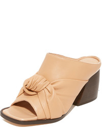 Helmut Lang Knotted Mules