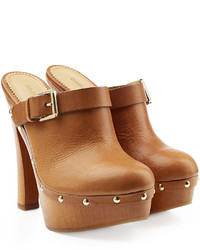 Dsquared2 Leather Clogs