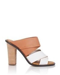 See by Chloe Leather Mules White