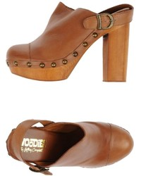 Woodies By Jeffrey Campbell Mules