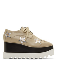 Stella McCartney Beige Stars Elyse Sneakers