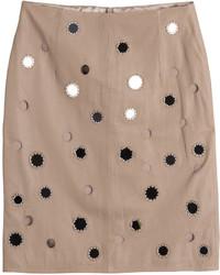Darling leather pencil skirt medium 528436
