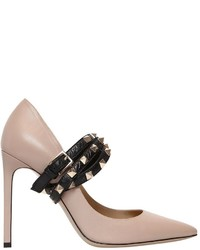 Valentino 105mm Studwrap Leather Pumps