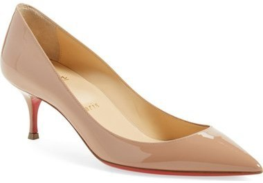 huge selection of 42db0 03d7b $675, Christian Louboutin Pigalle Follies Pointy Toe Pump