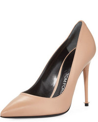 Tom Ford Soft Leather Point Toe 105mm Pump