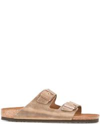 Birkenstock Buckled Slip On Sandals