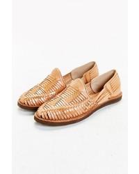 Yuketen Chamula Huarache Woven Leather Shoe