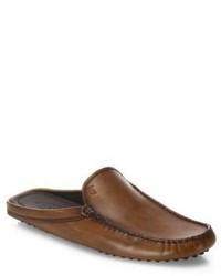 Tod's Gommini Leather Mule Slides