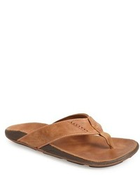 Nui leather flip flop medium 236356
