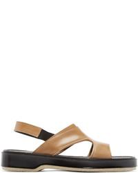 ADIEU Tan Leather Type 43 C Sandals