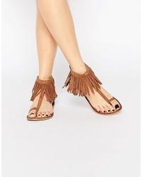 Vero Moda Fringe Detail Sandal