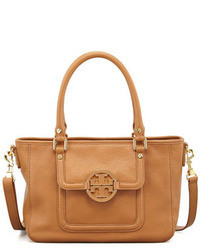 Tory Burch Amanda Mini Satchel Bag Tan