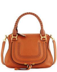 Chloé Chloe Marcie Large Leather Satchel Bag