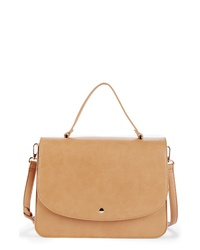 Sole Society Elie Medium Faux Leather Satchel