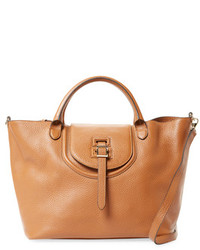 Meli-Melo Halo Large Leather Satchel