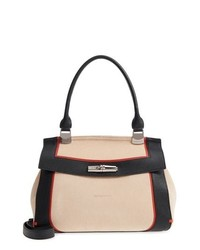 Longchamp Madeleine Colorblock Leather Satchel