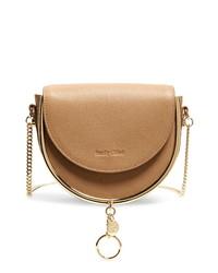 See by Chloe Mara Leather Saddle Bag