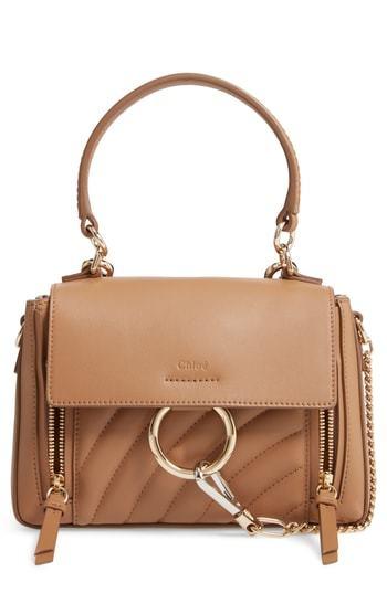 Chloé Mini Faye Day Leather Satchel