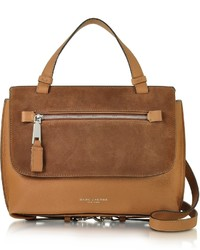 Marc Jacobs Waverly Small Maple Tan Leather Top Handle Bag