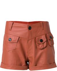Andrea Bogosian Leather Shorts