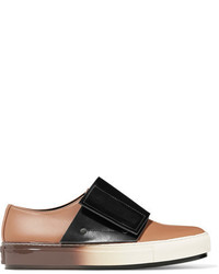 Marni Leather Sneakers Sand