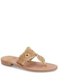 Whipstitched flip flop medium 3751482