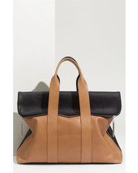 3.1 Phillip Lim 31 Hour Leather Tote Beige