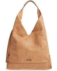 Steve Madden Bailey Faux Leather Tote Beige