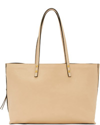 Chloé Beige Leather Dylan Large Tote Bag