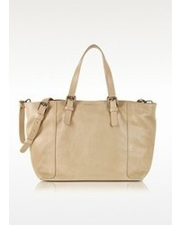 Gerard Darel Beige Simple Mini Tote