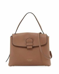 Burberry Camberley Medium Saffiano Tote Bag Sand